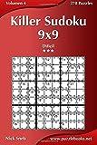 Killer Sudoku 9x9 - Difícil - Volumen 4 - 270 Puzzles: Volume 4