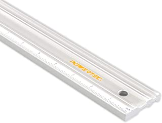 POWERTEC 71213 Anodized Aluminum Straight Edge Ruler | 18