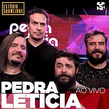 Pedra Leticia no Estúdio Showlivre (Ao Vivo)