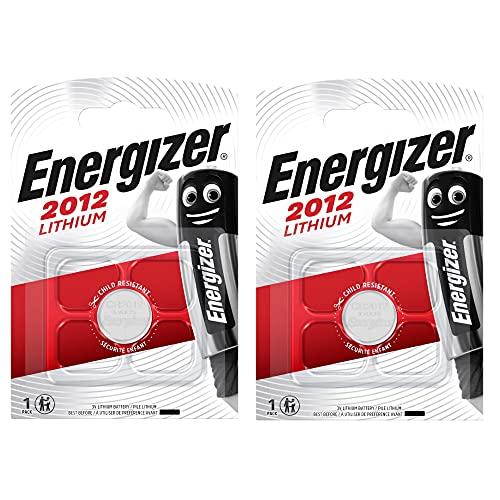 Energizer CR2012 Lithium-Knopfzelle 3 V, Blisterverpackung, 2 Stück