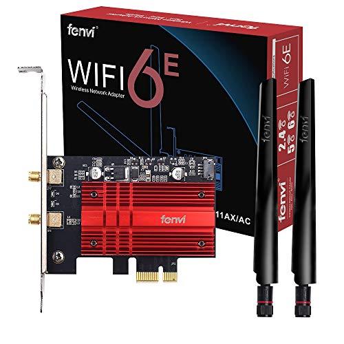 WiFi 6E AX210 WiFi Card BT5.2 6GHz 3000Mbps PCI-E...