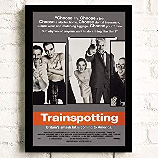 Trainspotting Movie Poster Prints Wall Art Decor Unframed,Multiple Patterns Available-16.5