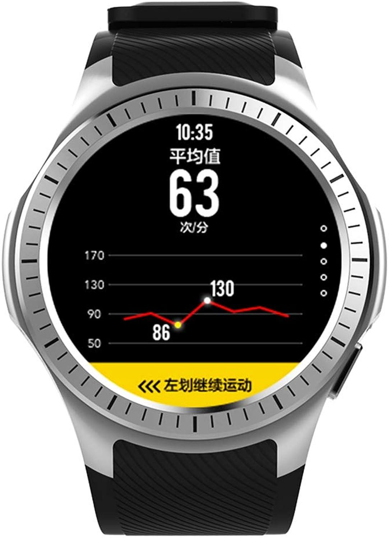 LCDIEB Sportuhr Smart Watch mit GPS-Unterstützung Schlafmonitor SIM-Karte Smartwatch Multi-Sport-Modus Fitness Tracker für Mnner Frauen