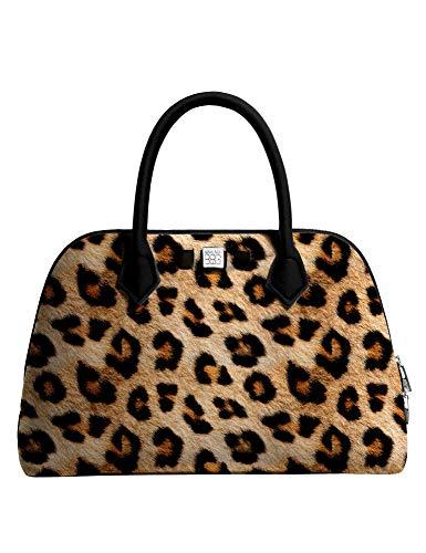 Save My Bag Damen Handtasche - Princess - Maxi Printed - Leopard