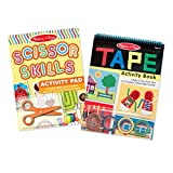 Melissa & Doug Activity Book Bundle - Scissor Skills & Tape Activity Book