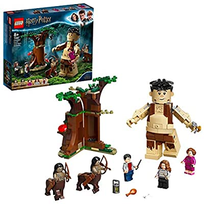 LEGO 75967 Harry Potter Forbidden Forest: Umbridge's Encounter Building Set with Giant Grawp and 2 Centaur Figures by LEGO