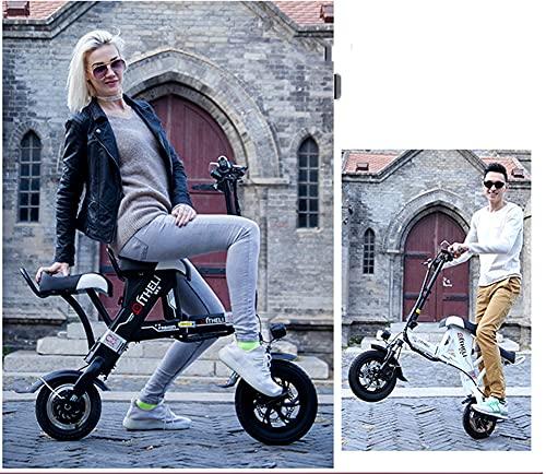 Xiaokang Scooter eléctrico Manual portátil para Adultos, 48V Mini Mini pequeña batería...