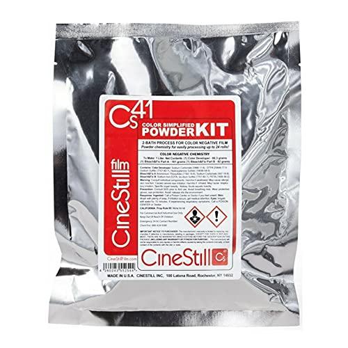 CineStill CS41 Liquid Developing Quart Kit para Procesar Película Negativa Color C-41