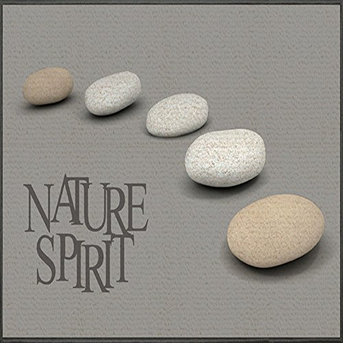 tapis déco tapis rectangle 50x80 cm nature spirit