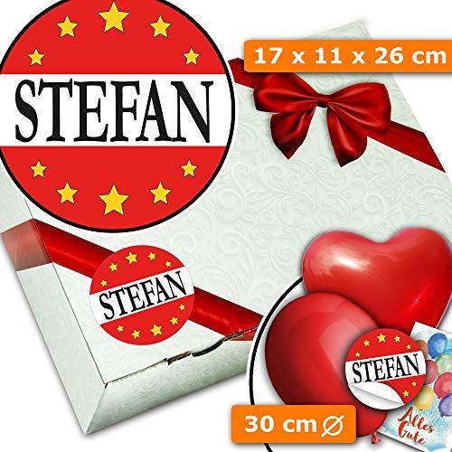 Stefan - Geschenkschachteln - Geschenk für Stefan