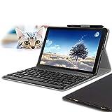 Galaxy Tab S4 10.5 Keyboard Case, Wineecy Stylish PU