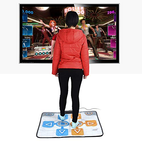 DaMohony Dance Mat, Double Person Non-slip Dance Dancing Pad Mat for Nintendo Wii Console Game