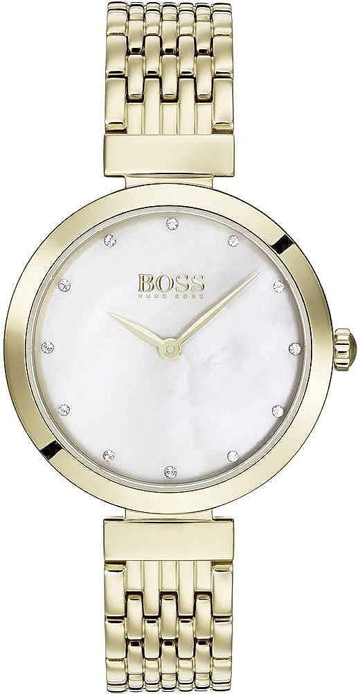 Hugo boss orologio analogico donna con cinturino in acciaio inox 1502479
