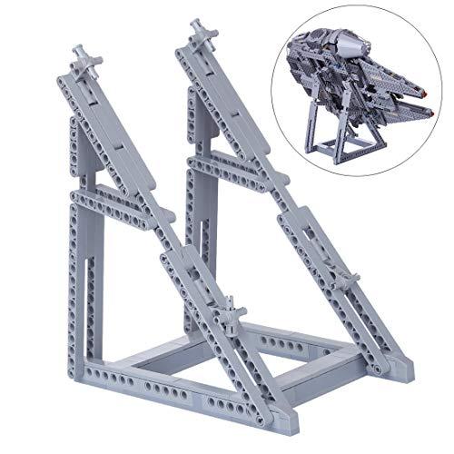 WEEGO 134Piezas Display Stand para Lego Millennium Falcon Display Soporte Compatible con Lego Technic 75257/75212