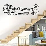 BFMBCH Lustige Hundesalon Einladung Vinyl Kinderzimmer Wohnzimmer Kinderzimmer Home Wandkunst...