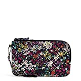 Vera Bradley Signature Cotton Wristlet with RFID Protection, Itsy Ditsy