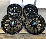 4 x 19 Zoll MM-CONCEPTS MM01 Alu Felgen 8,5x19 5x112 ET45 schwarz Glanz glänzend für X1 F48 X2 F39 2er F46 M X5 G05 M Performance Paket NEU
