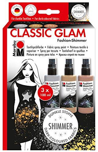 Marabu 171800081 - Fashion-Spray Shimmer Set