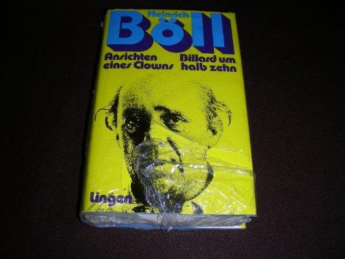 Ansichten eines Clowns / Billard um halb zehn - 2 Romane