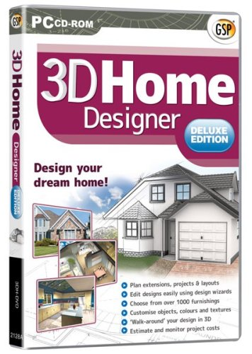 3D Home Designer Deluxe (PC CD)