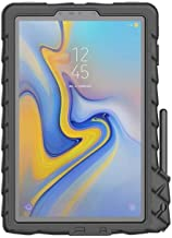 Gumdrop DropTech Case with S Pen Slot Designed for Samsung Galaxy Tab S4 10.5 Inch Tablet for Commercial, Business and Office Essentials - Black, Rugged, Shock Absorbing, Extreme Drop Protection