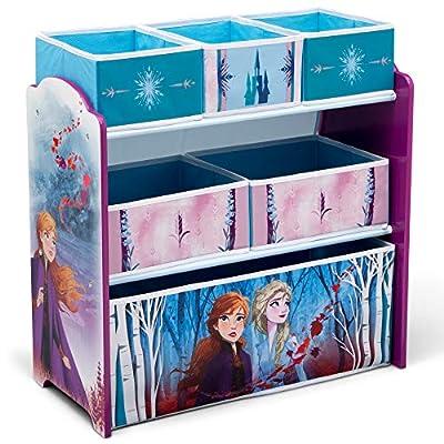 Delta Children Design & Store 6 Bin Toy Storage Organizer, Disney Frozen II