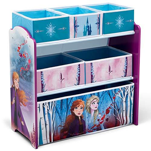 Disney Frozen 2 Design and Store 6 Bin Toy Organizer - Delta Children