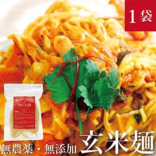 HIRYUの玄米麺 100g×1pc パスタ 自然栽培(無農薬・無肥料) (平麺)