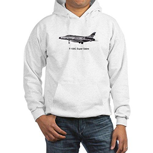 CafePress F-100 Super Sabre Sweat-shirt - Blanc - Taille Unique