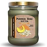 Mantequilla de Semillas de Calabaza ISOP | Mantequilla de Nueces - Semillas Para Untar Totalmente Naturales Sin Sal - Superalimento - Sin Azúcar ni Grasas Añadidas | Vegana (230 gr)