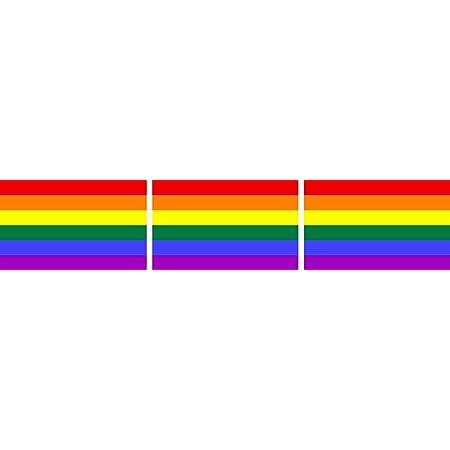 Michael Rene Pflüger Barmstedt 3x Mini Premium Aufkleber Fahne Regenbogen Rainbow Flaggen Sticker Auto Motorrad Fahrrad Bike Auch Für Dampfer E Zigarette Sisha Auto