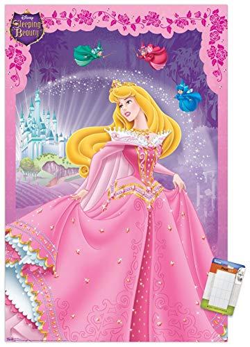 Trends International Disney Sleeping Beauty Wall Poster, 22.375