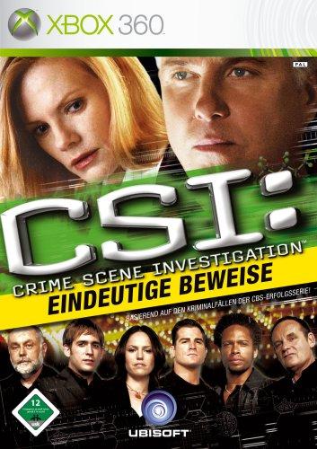 Ubisoft CSI Hard Evidence Xbox 360™ - Juego (DEU)