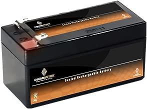 12V 1.2AH Sealed Lead Acid (SLA) Battery - T1 Terminals - for ZB-12-1.2