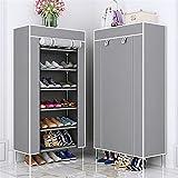 Almacenamiento de zapatos Zapato de múltiples capas Organizador de zapatos Non-tejido Tela Estantes de zapatos Soporte de...