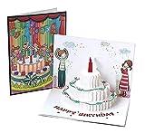 Tarjetas de felicitación Cumpleaños, Deesospro® Tarjeta de cumpleaños Regalo para familiares,...