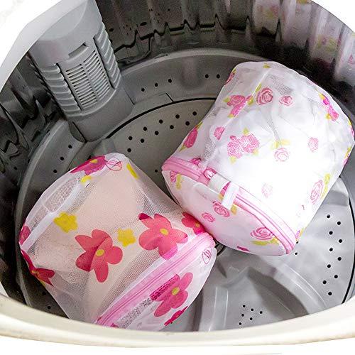 LLFA - Bolsa protectora para sujetador, plegable, bolsa de lavandería, bolsa de almacenamiento de viaje, organizador de ropa, bolsa de lavado