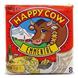Happy cow Slice-Emmental Ingredients- Cheese, Cow Milk, Water, Butter, Cream, Skimmed Milk Powder, Milk Protein, whey powder, salt, Citric acid. Distinctively creamy and rich in taste. Our cheese can become your go-to choice, you just need to try it....
