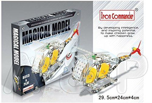 GeekGoodies Iron Commander Helicopter Brain Teaser Game Puzzle