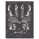 Lefgnmyi Mutter!2017 Film Film Javier Bardem Kunstplakat