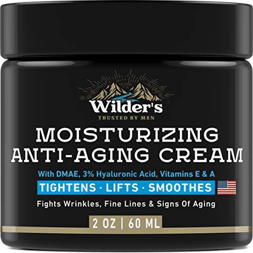Men#039s Anti Aging Face Cream Moisturizer  Premium Skin Care for Men with Collagen Retinol Hyaluronic Acid  Made in USA  Fast AntiAge Effect Day amp Night  Wrinkle Free Facial Men Moisturizer 2Oz
