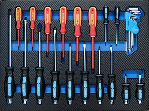 DeTec. Werkstattwagen blue Edition inkl. Werkzeug - 8