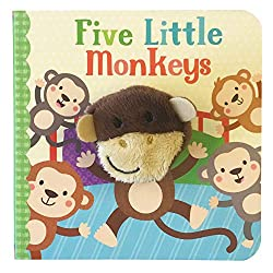 Five Little Monkeys Book Cover