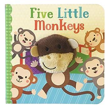 Five Little Monkeys  Finger Puppet Board Book
