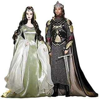Barbie Lord of The Rings and Ken as Arwen and Aragorn