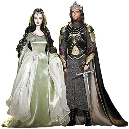 Amazon com: Barbie Lord of The Rings and Ken as Arwen and
