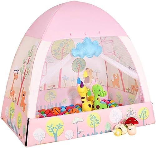 garantizado HLWAWA Portable Kids Play Tent Toddler Boys Girls Girls Girls Juegos al Aire Libre en el Interior Playhouse promueve el Aprendizaje temprano Social Bonding Imagination Building Roleplay  artículos de promoción