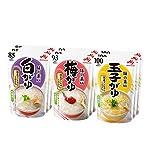 味の素 おかゆ 3種×3個(白がゆ3個、梅がゆ3個、玉子がゆ3個)