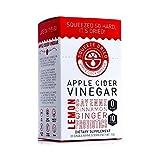 Squeeze Dried Apple Cider Vinegar Powder Sticks with Probiotics, Natural Detox Powder, Pocket Packs to Take on the Go, 30 Single-Serve Sticks