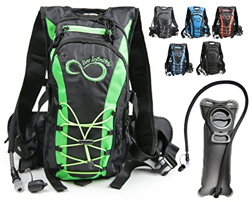 Live Infinitely Hydration Backpack with 2.0L TPU...